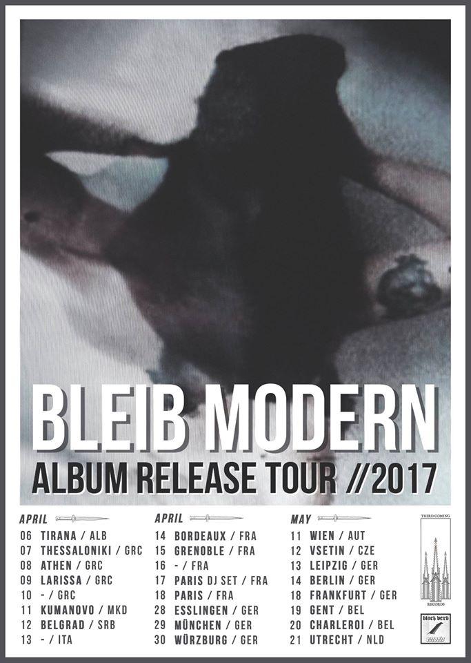 Bleib Modern Album Release Tour 2017
