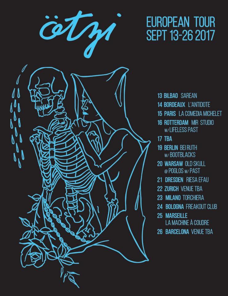 Ötzi European Tour September 13-26, 2017
