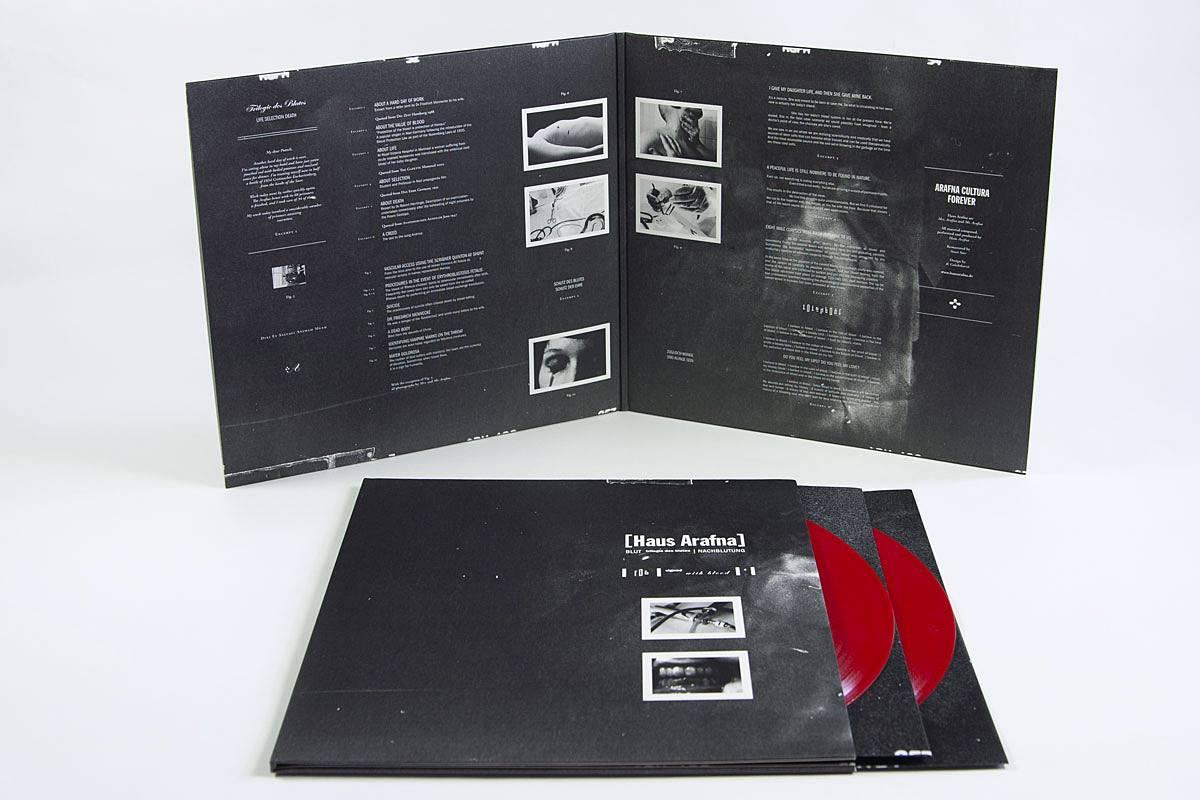 Haus Arafna - Blut + Nachblutung LP