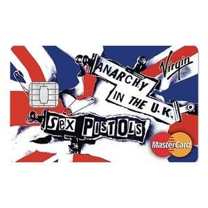 Sex Pistols Virgin Money credit cards