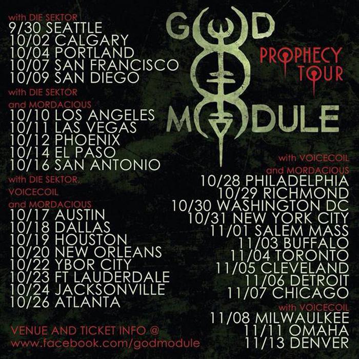 God Module Prophecy Tour