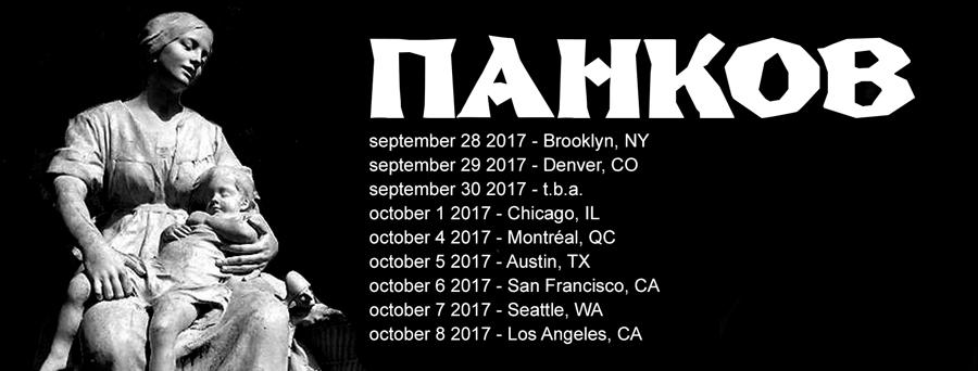 Pankow US Tour 2017