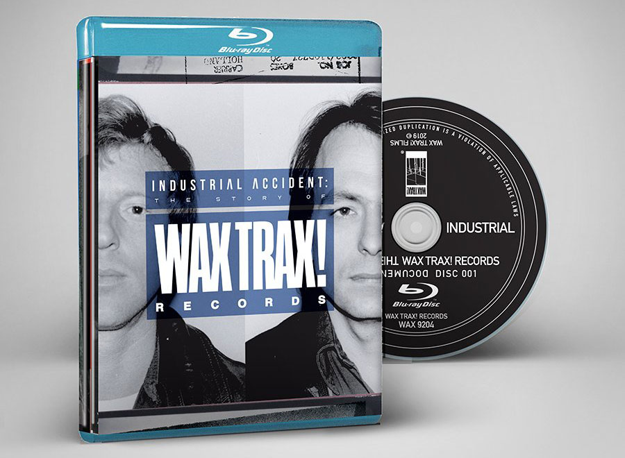 Wax Trax! Records Industrial Accident Blu Ray