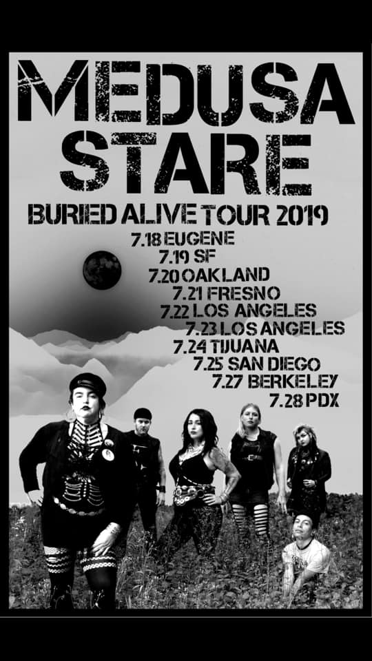 Medusa Stare Buried Alive Tour 2019