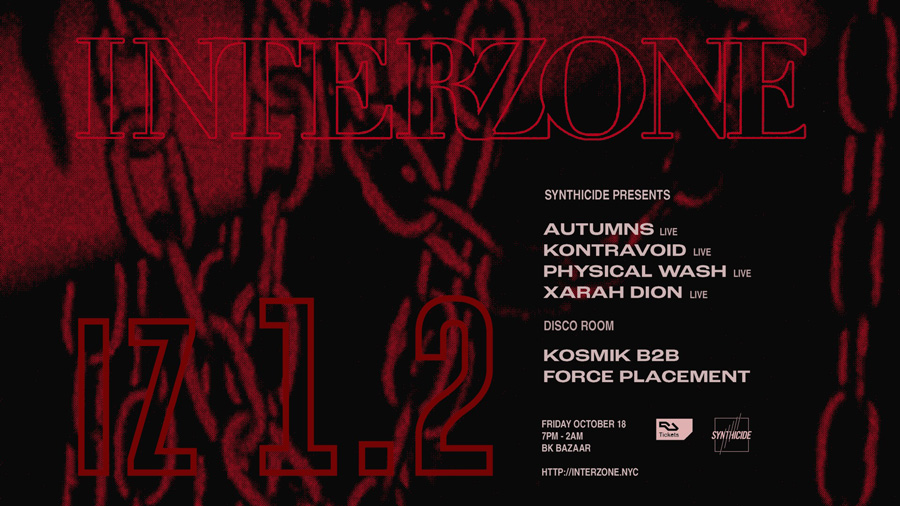 Interzone ‎IZ 1.2 Autumns Kontravoid Physical Wash Xarah Dion Black Lodge