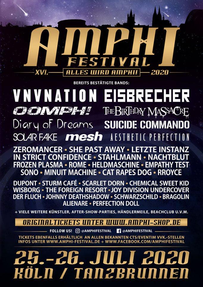 2020 Amphi Festival