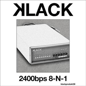 Klack - 2400bps 8-N-1