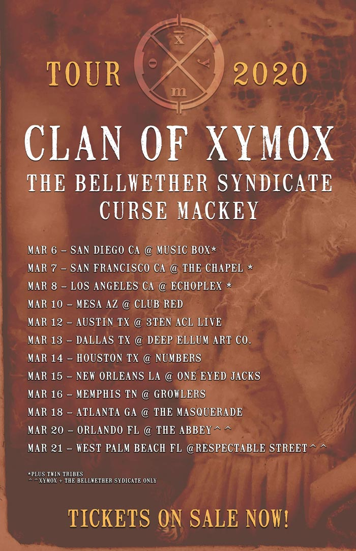 Clan of Xymox Tour 2020