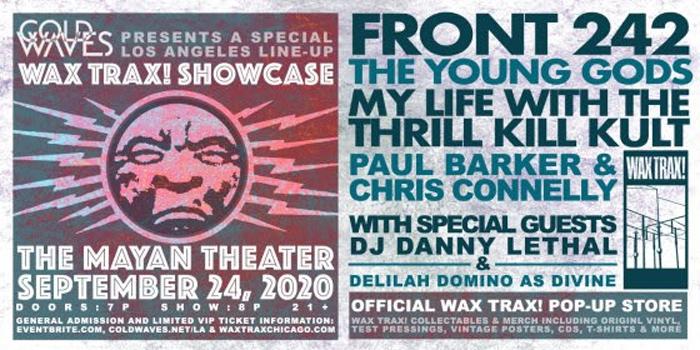 Cold Waves presents: Wax Trax! LA Showcase