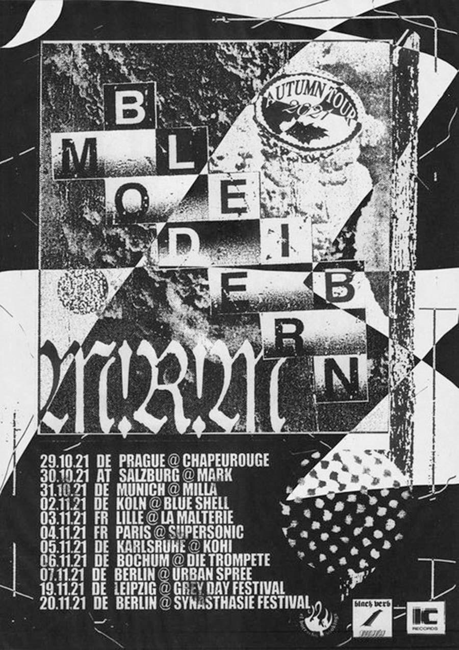Bleib Modern & M!R!M Autumn Tour 2021